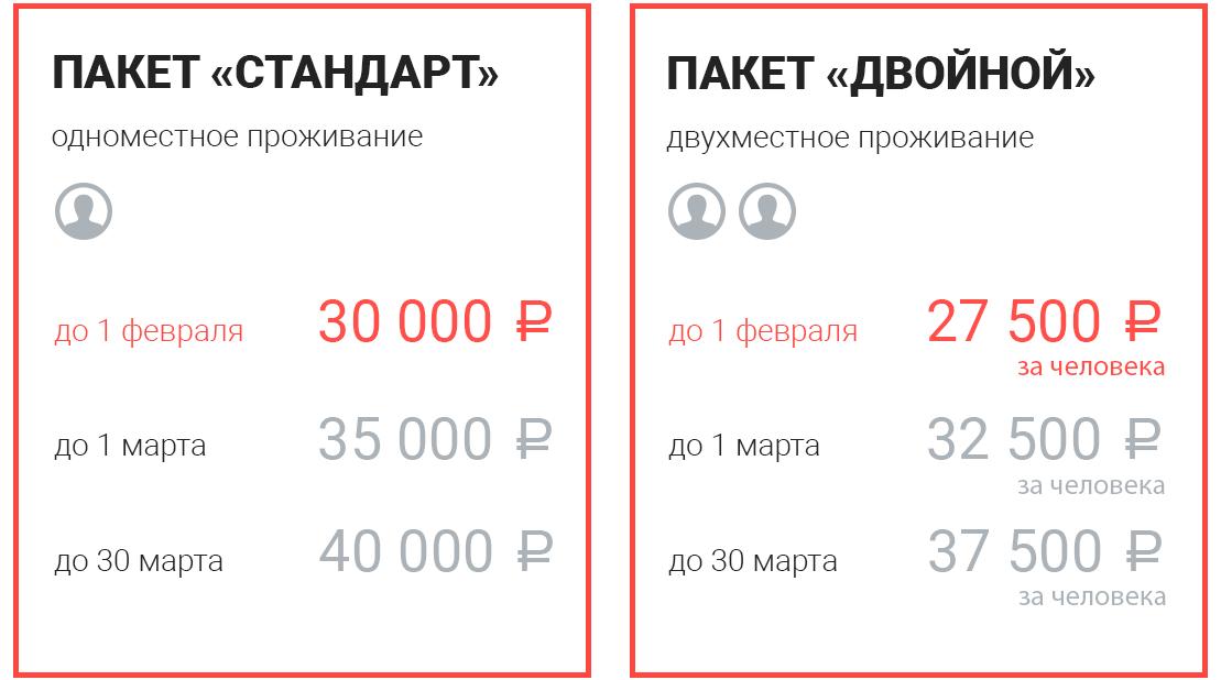 цены акселератор сочи 2018 (2)