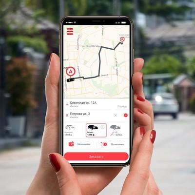 создание приложения такси для iOS и Android